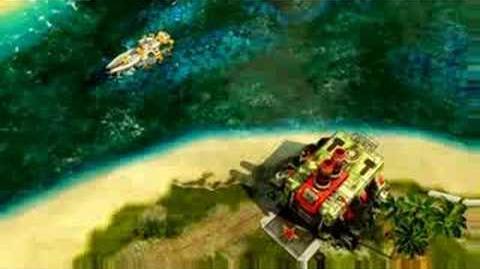 C&C Red Alert 3 Shogun Battleship Surveillance Footage