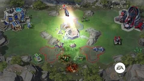 Command and Conquer Rivals Head to Head Gameplay Demo - E3 2018