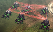 CNC4 Spider Tanks In-game