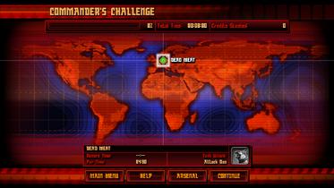 Commander's Challenge start