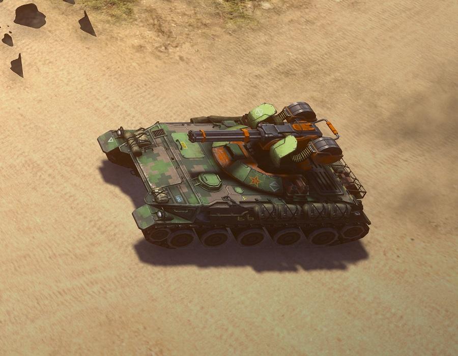 Gatling tank (Generals 2)