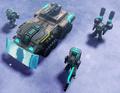 CNC4 Armadillo and Squad