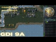 Command & Conquer Remastered - GDI Mission 9A - CLEARING A PATH (Hard)