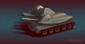 RAA Gatling Tank
