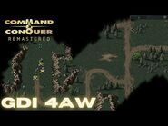 Command & Conquer Remastered - GDI Mission 4AW - STOLEN PROPERTY POLAND (Hard)