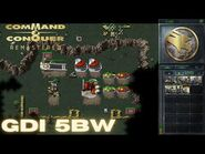 Command & Conquer Remastered - GDI Mission 5BW - RESTORING POWER GERMANY EAST (Hard)