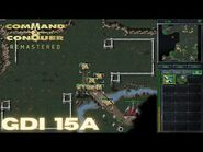 Command & Conquer Remastered - GDI Mission 15A - TEMPLE STRIKE SARAJEVO WEST (Hard)