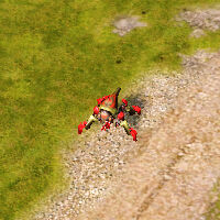 Disassembler mode on land