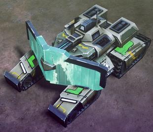 Blue Tiberium Core and upgrade