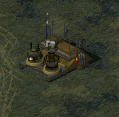 An upgrade center with ion cannon and hunter-seeker control nodes