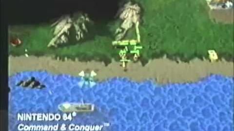 Command and Conquer 64 - trailer