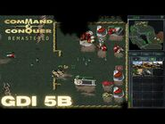 Command & Conquer Remastered - GDI Mission 5B - RESTORING POWER UKRAINE EAST (Hard)