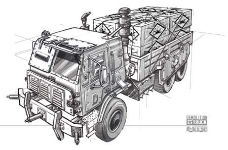Demolition truck (Renegade 2)