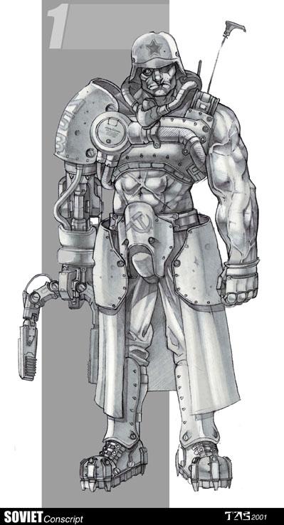 Conscript (Renegade 2)