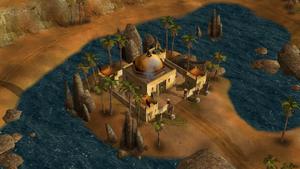 Prince Kassad's command center