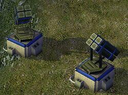4x Patriot batteries