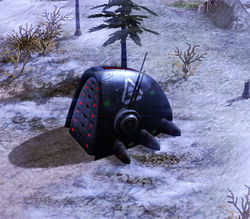 A Marked of Kane control node in Siberia, 2052