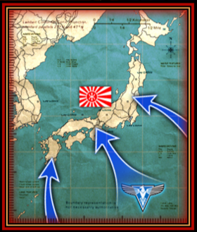 The Black Tortoise is the only thing between the Allied forces and the Japanese mainland
