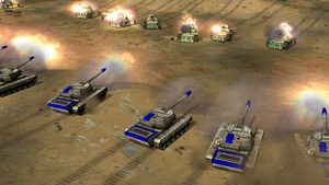 Tank standoff