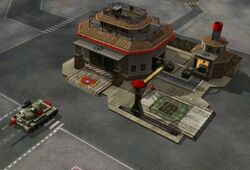 Chinese war factory with a Battlemaster tank