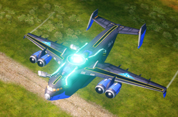 Collider Cannons mode
