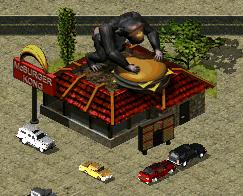 A McBurger Kong in Hollywood