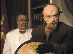 Romanov and his advisor Yuri