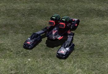 With Tiberium core missiles