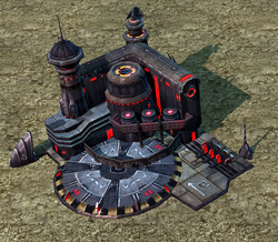 The Tiberium forge uses the model of the Nod Tiberium weapons plant in Casabad
