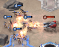 CNCRiv Flame Tank vs infantry.png