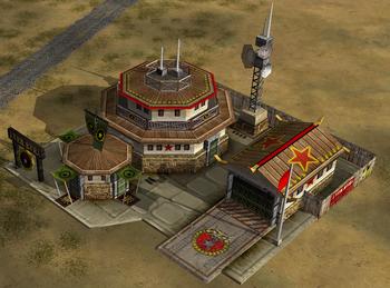 China with radar