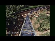 Big Bend Rollercoaster at Six Flags Over Texas in 1971.