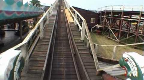 Scenic Railway, Dreamland, Margate -2003 POV