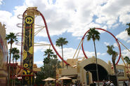 Universal Studios Hollywood Rip Ride Rockit