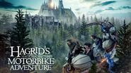 Universal's Islands of Adventure Hagrid's Magical Creatures Motorbike Adventure Poster