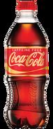 Caffeine-Free Coca-Cola Plastic Bottle