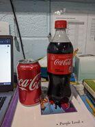 Coca Cola 12oz Can & 20oz Bottle