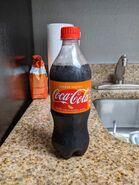 20oz Orange Vanilla Coca Cola