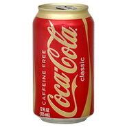 Coke caffeine free