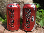 Coca Cola C2 Cans With Different Style