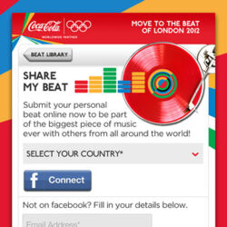 Coca-Cola Olympic Games My Beat Maker (Application)