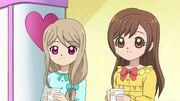 Kokoro and Nozomi