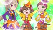 Kokoro, Nozomi and Hikari Halloween