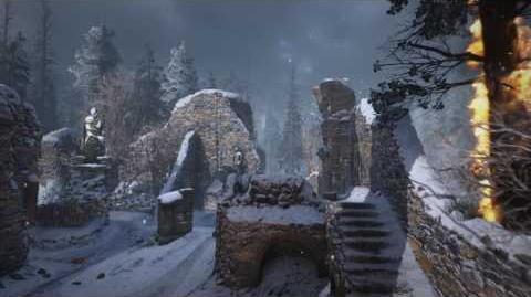 Call of Duty® WWII – Vista aérea del mapa Ardennes del multijugador