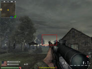 Bayonet en un arma WaW