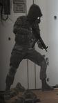 Soldado en Club del ligue aéreo (2)