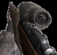Mosin-Nagant mira telecopica en Call of Duty 2