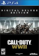 CoD WWII - Carátula de PS4 de la Edición Digital de Lujo