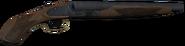 Modelo de la escopeta de doble barril recortada WaW