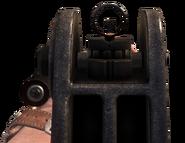 RPK mira de hierro en Call of Duty Black Ops